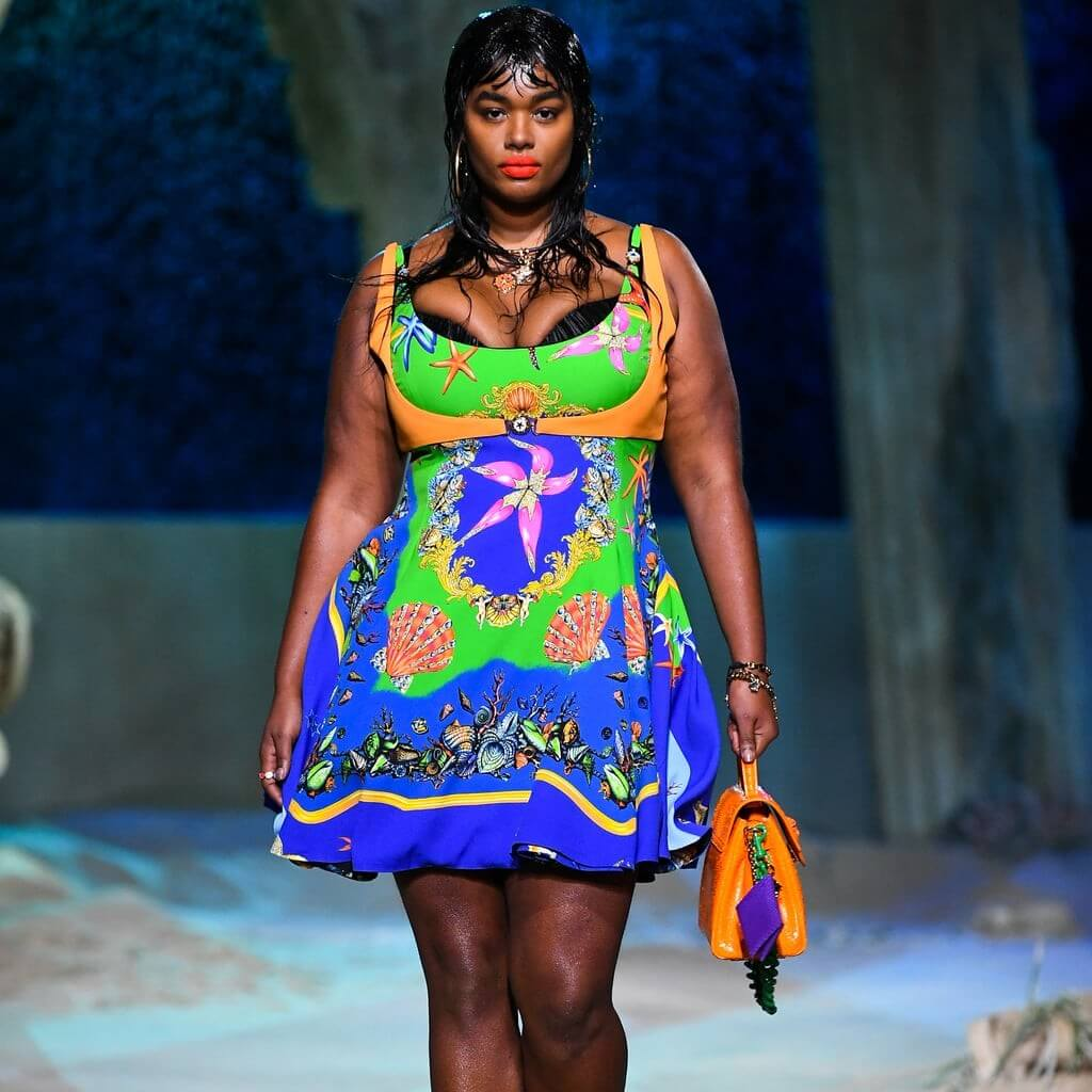 The curve models killing it at SS21 Fashion Shows